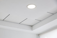Multi-level Ceiling With Three...
