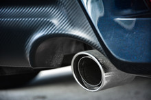 Close-up Car Exhaust Pipe,Exha...
