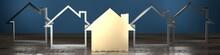 House Shape - Real Estate Conc...