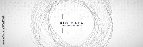 Big data concept Fototapeta