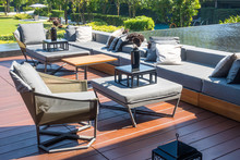 Outdoor Patio Deck And Chair D...