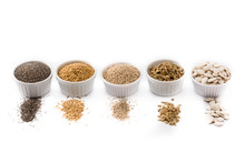 Assortment Of Different Seeds ...