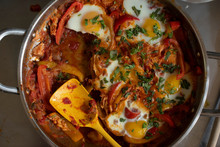 Shakshuka Breakfast Dish