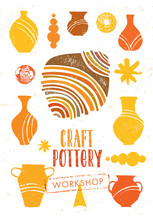 Handmade Ceramics Clay Pottery...