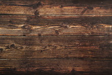 Dark Brown Wood Surface. Textu...