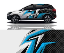 Suv Car Sport Decal Wrapping  ...