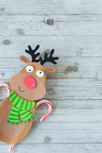 Child Christmas Reindeer Foam ...