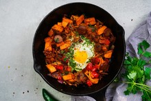 Skillet Baked Sweet Potato Bre...