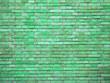 Leinwanddruck Bild - Old brick wall texture. Grunge background.