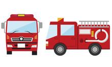 消防車 消防 火事