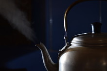 Metal Colored Kettle With Boil...