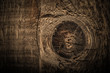 canvas print picture - Surface of old textured wooden board for background. Toned