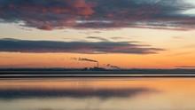 River Humber Sunset