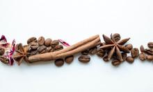 Coffee Beans Cinnamon Sticks A...