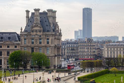 Fotografie, Tablou la tour montparnasse et le louvre