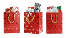 Set Of Bright Paper Shopping B...