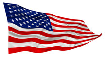 American Flag Of United States...