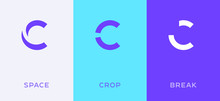 Set Of Letter C Minimal Logo Icon Design Template Elements
