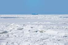 Ice Hummocks Of The Gulf Of Fi...