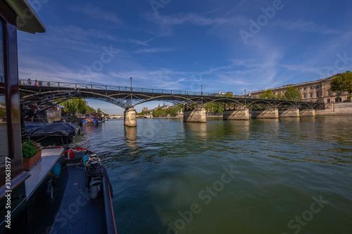 la seine et le pont des arts Fototapet