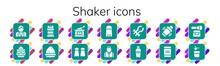 Shaker Icon Set