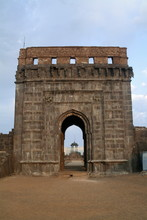 Entrance Gate At Raigad Fort A...