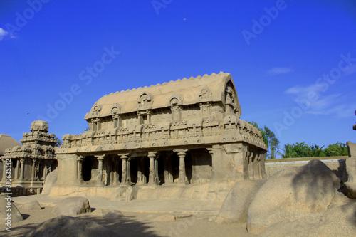 Fotografie, Obraz Unesco world Herihage site Mahabalipuram 9