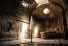 Pompeii Ruins - Bath House