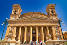 View Of The Rotunda Of Mosta, ...