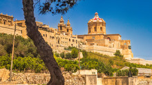 View Of Mdina, A Fortified Med...