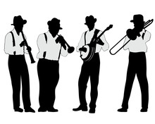 Jazz Musicians With Wind Instr...