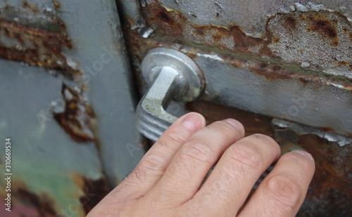 Aprire o chiudere una porta фототапет