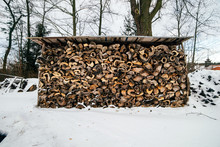 Firewood Storage For Stove Hea...