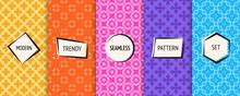 Geometric Seamless Patterns Co...