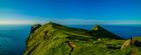 Wyspy Owcze - Latarnia Morska Kaltur na Wyspie Kalsoy