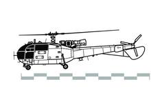 Aerospatiale Alouette 3, SA 31...