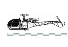 Aerospatiale Alouette 2, SA 31...
