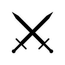 Crossed Swords Icon.