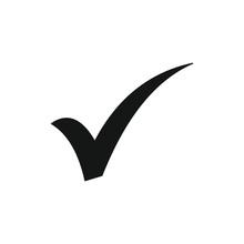 Checkmark Icon Symbol Vector Illustration