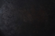 Empty Black Uneven  Metal Text...
