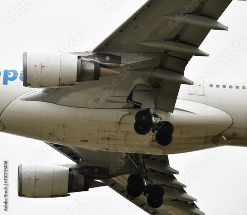 avion y sus motores Fototapete