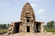 Galaganatha Temple, Mid 7th Century CE, Pattadakal, Karnataka , India