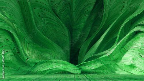 Interior texture wood background. 3d illustration, 3d rendering.
