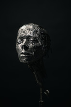Ornamental Metal Skull
