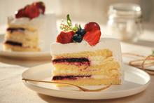 A Piece Of Strawberry Cake