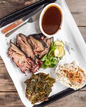Smoked Barbecue Pork Platter
