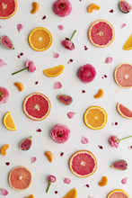 Fruit And Flower Background
