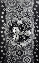 Black And White Easter Eggs Wi...