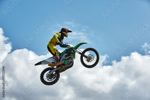 Fotomural  Extreme sports, motorcycle jumping