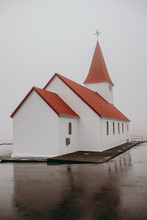 Little Cathedral In Fog